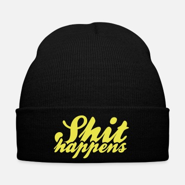 Politics Shit Happens & Politics - Winter Hat