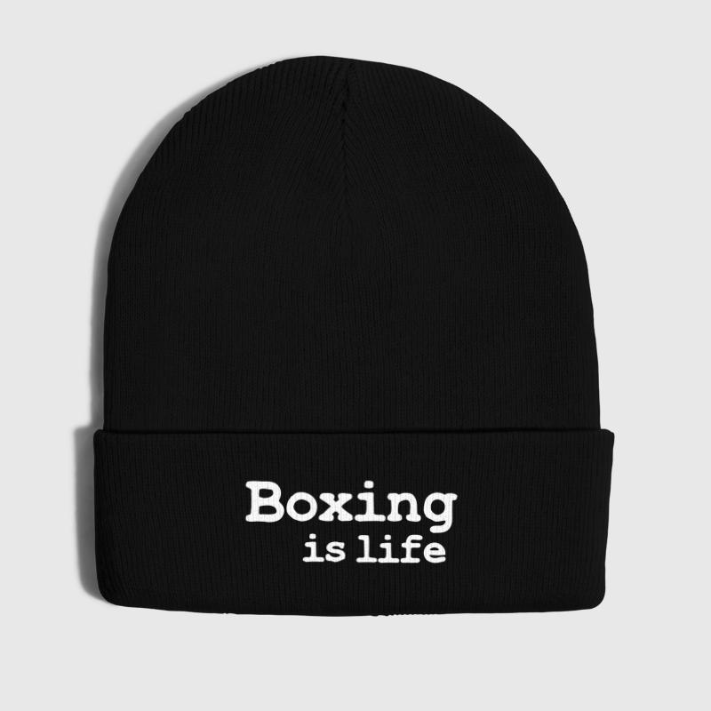 boxing is life - Winter Hat