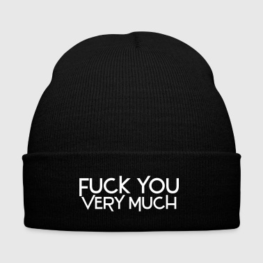 fuck you very much deluxe - Cappellino invernale