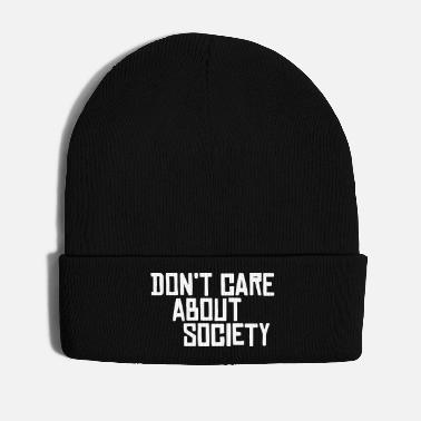 Antifascist Do not Care About Society - Winter Hat