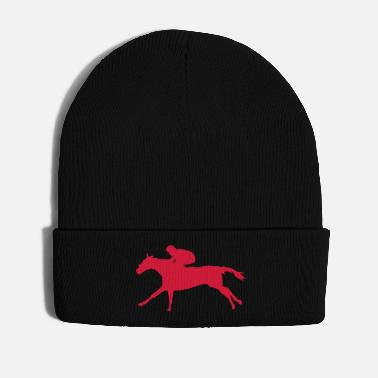 Racing horse race horse race horse5 jocke - Winter Hat