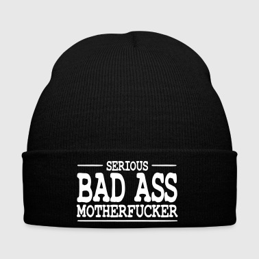 serious bad ass motherfucker / badass - Cappellino invernale