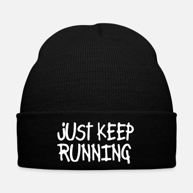 Just just keep running - Cappellino invernale