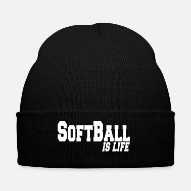 Softball softball is life - Bonnet d'hiver