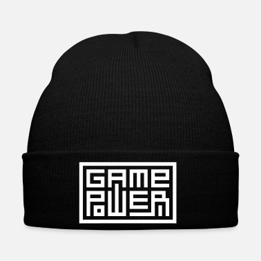 Game Over Game Power - Bonnet d'hiver