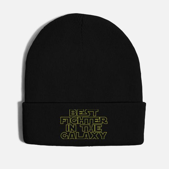 Boxer Caps & Hats - Best Fighter in the Galaxy - Winter Hat black
