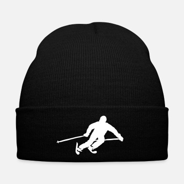 Ski Resort ski resort skies ski area skiing - Winter Hat