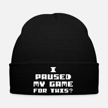 Pause I paused my game for this - Winter Hat