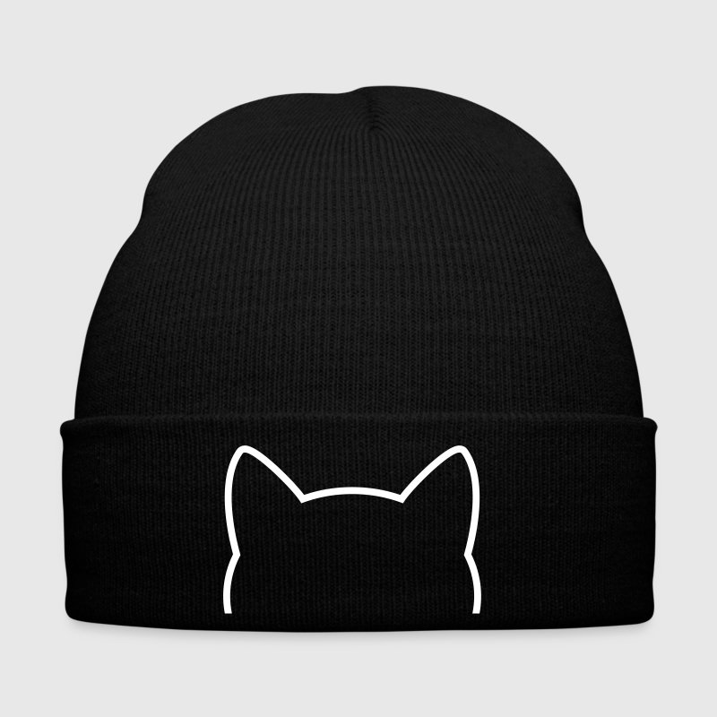 Cat Icon Outline - Winter Hat