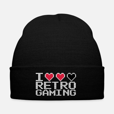Old School I Heart Retro Gaming Quote - Winterhue