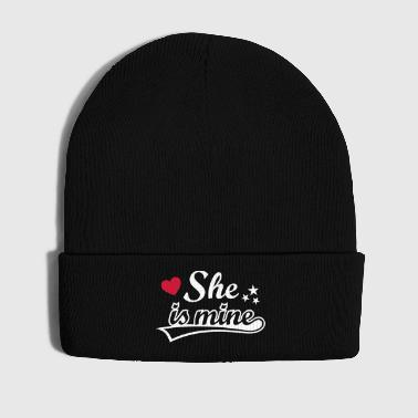 She's mine Amo a mi novia love girlfriend Amor   - Gorro de invierno