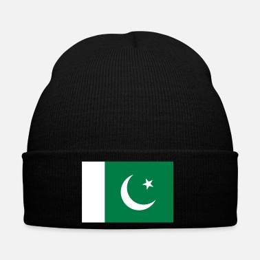 Arabe Drapeau national du Pakistan - Bonnet d'hiver
