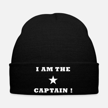 Capitaine Je suis le capitaine - Bonnet