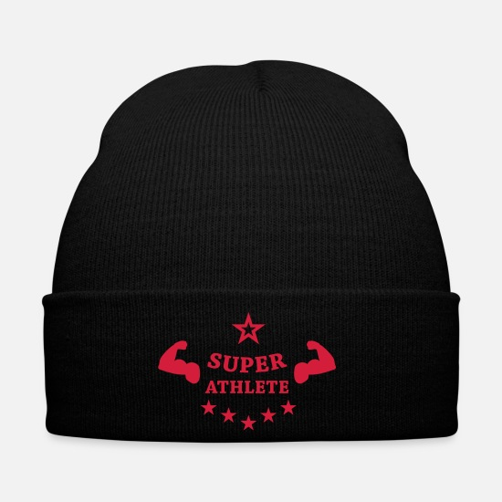 Running Casquettes et bonnets - Super Athlete - Bonnet noir