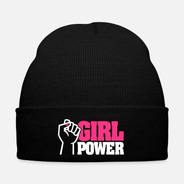 Poingt GIRL POWER - émancipation féministe - vernis à ongles - Bonnet d'hiver