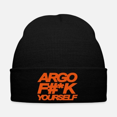 California ARGO FUCK YOURSELF - Winter Hat