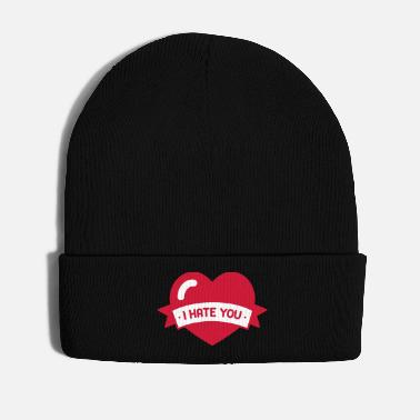 Heartache I hate you, love separation heartache 2f - Winter Hat