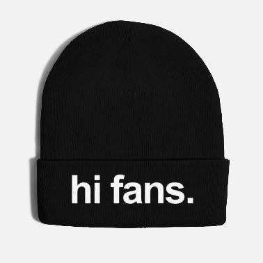 Fan salut fans - Bonnet