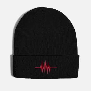 Hip-hop Electro frequency - pulse - Winter Hat