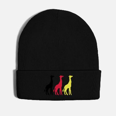 Ungulate GIRAFFE trio - Winter Hat