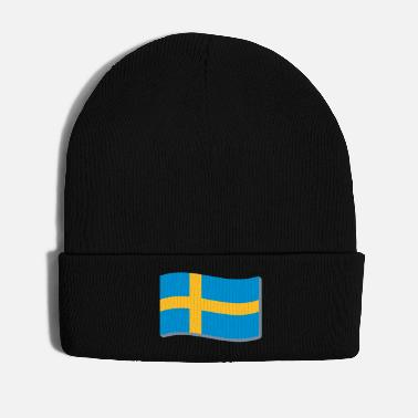 Sweden Swedish Flag 3D Flag of Sweden. Sweden - Winter Hat