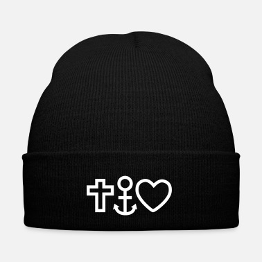 Religione love faith hope / religion - Cappellino invernale