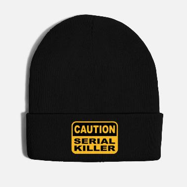 Serial Killer caution serial killer design - Winter Hat