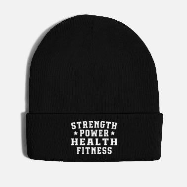 Health Strength power health fitness - Winter Hat