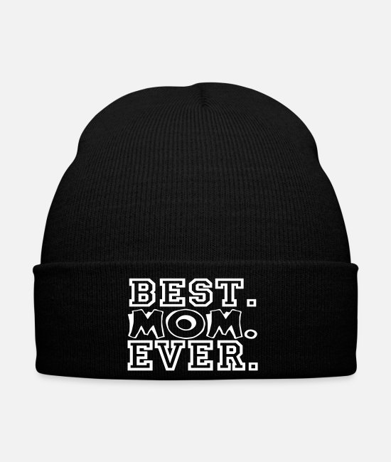 Renner Caps & Hats - Best mom - best mom ever - Winter Hat black