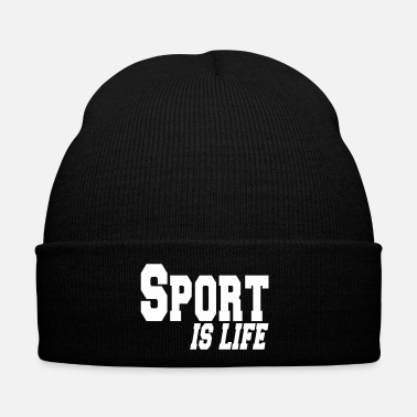 Sports sport is life - Gorro de invierno