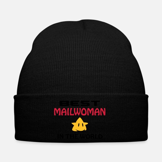 Mummy Caps & Hats - Facteur / Factrice / Factor / Mailman / Mailwoman - Winter Hat black