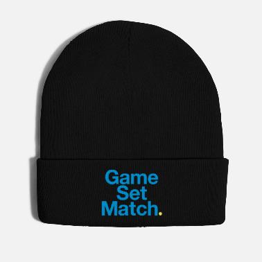 Set GAME, SET, MATCH - Cappello invernale