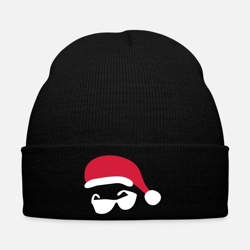 Christmas Caps & Hats - Santa Swag - Winter Hat black