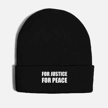 Demo For Justice For Peace Basic Law Demo Resistance - Winter Hat