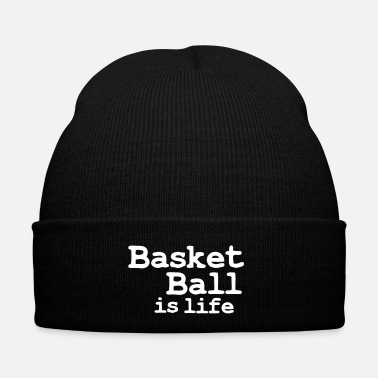 Sports basketball is life - Bonnet d'hiver