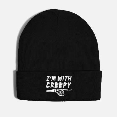 Trick Or Treat I'm with creepy - Winter Hat