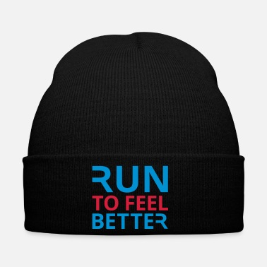 Philosophie Run To Feel Better - Bonnet d'hiver