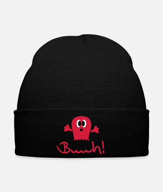 Boo Caps & Hats - geist___f3 - Winter Hat black