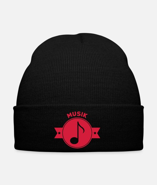 Bass Caps & Hats - Musik Musiker Music Musician Musique Musicien - Winter Hat black