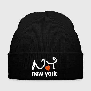 I Love New York - Cappellino invernale