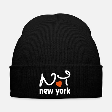 Ny I Love New York - Gorro de invierno