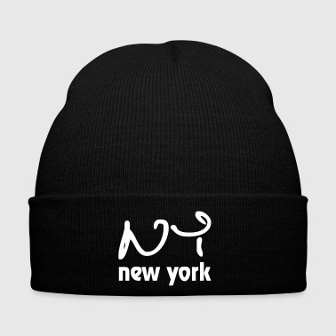 I Love New York New York - Gorro de invierno