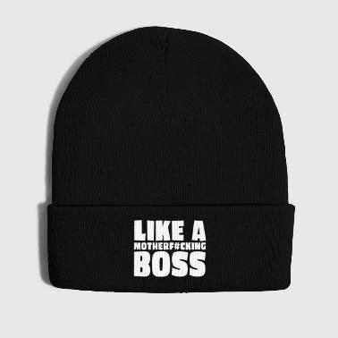 like a motherfcking boss 1c / like a boss - Cappellino invernale