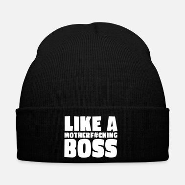 Like A Boss like a motherfcking boss 1c / like a boss - Cappellino invernale