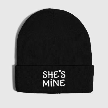 She's Mine I love you my Girlfriend Ti amo - Cappellino invernale