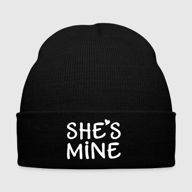 She's Mine I love you my Girlfriend Te quiero - Gorro de invierno