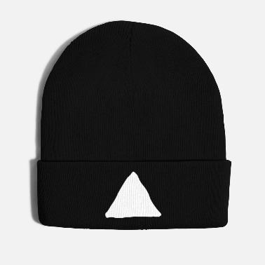 Text Triangle shape - Winter Hat