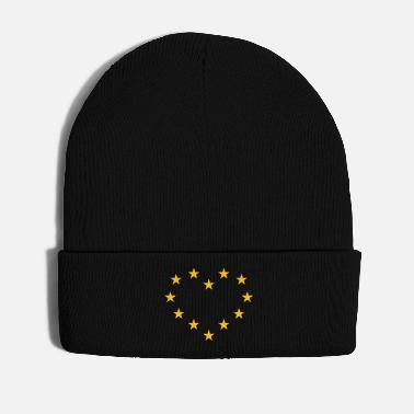 Europe Europe Heart (I Love Europe) - Winter Hat