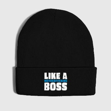 like a motherfcking boss 2c - Cappellino invernale