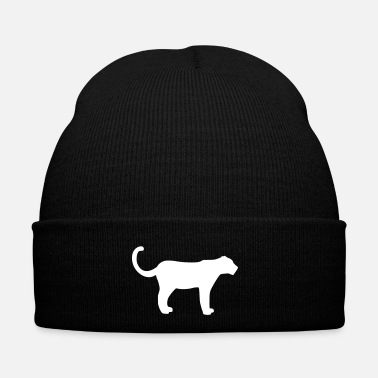 Stand black panther stand vektor - Winter Hat